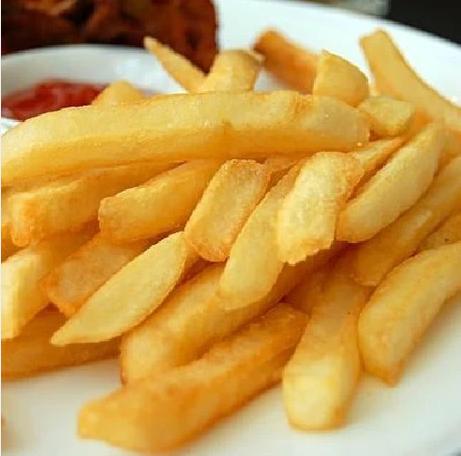 麦肯粗薯条 粗直薯条 KFC麦当劳 冷冻3/8薯条 西餐小吃 4斤
