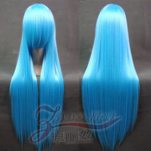 cosplay wig 80 Limi Paladin nigrum / blue princess fitted Kwai / tutor lily of the valley