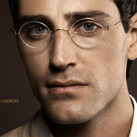 Lindberg Titanium Rimless Eyeglasses Men David Simchi Levi