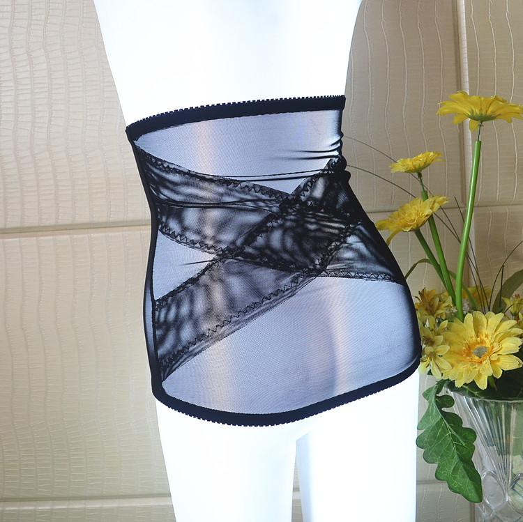 超薄加强版束腹带塑身衣束腰带防卷强力腰封产后收腹带包邮