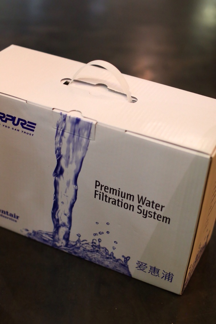 The 4fC water filter (commercial grade) of Everpure is free to install in Guangzhou