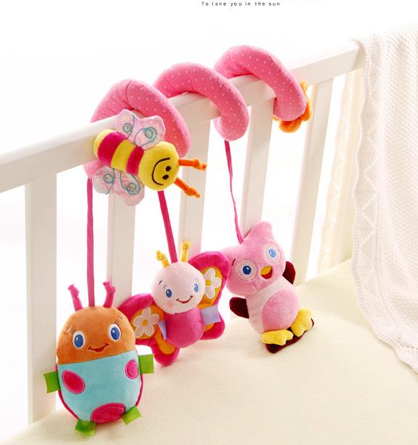 Хорошее качество sozzy baby игрушка розовый Жук вокруг кровати кровать вокруг