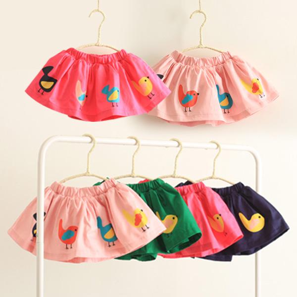 к 2015 году лето осень Корейский новый курица печати юбка бюст женщины носят юбки для детей QZ-1397
