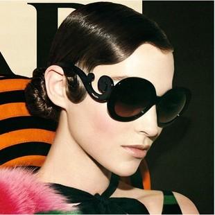 Новое барокко 2015 круглый box моды модные солнцезащитные очки модные солнцезащитные очки для мужчин и женщин