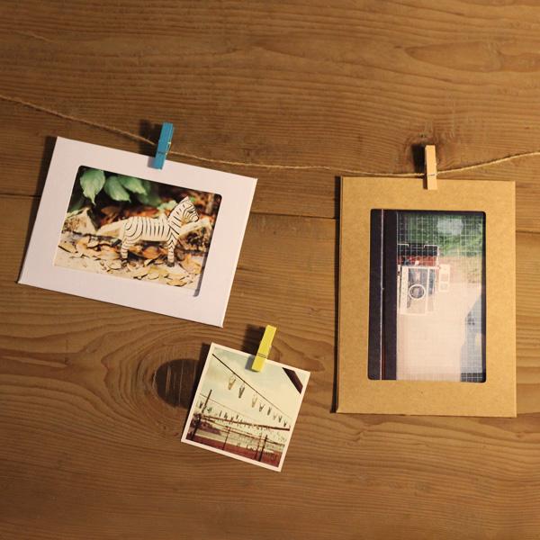 DIY подвеска стиль фоторамка - литература и искусство небольшой свежий 6 дюймовый 7 дюймовый бумага конопля шнур фаза фото стена крафт бить стоять получить