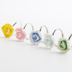 Young singers of Jingdezhen ceramic jewelry ring girlfriend birthday Roses Valentine''s day gifts