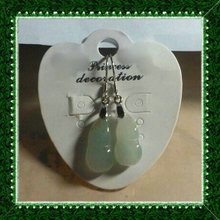 Jade A goods earrings gourd type silver eardrop 4 #
