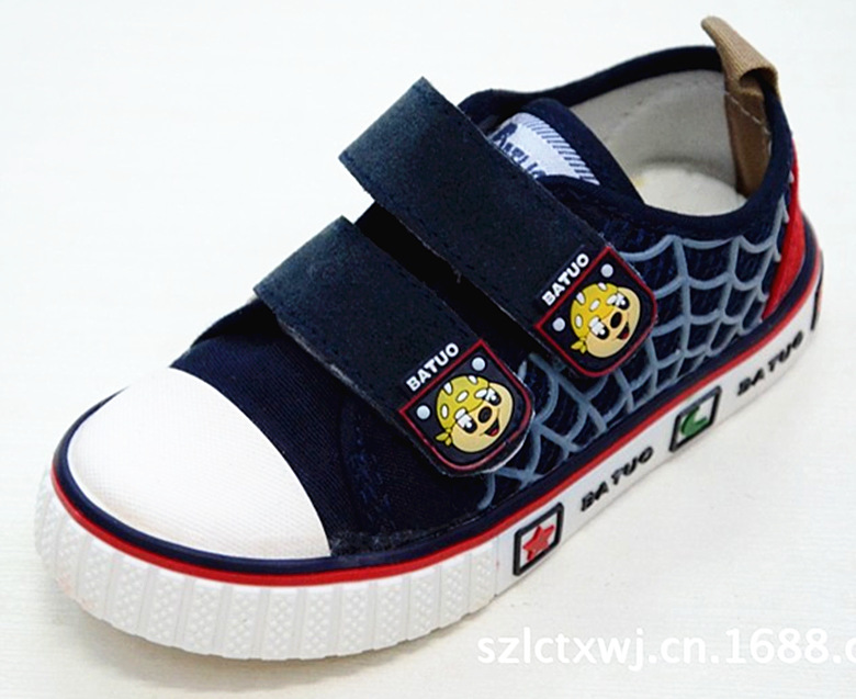 Brand childrens shoes Bato cloth shoes 25-30 size canvas shoes childrens shoes / casual / breathable / popular / wear for 2-5 years old