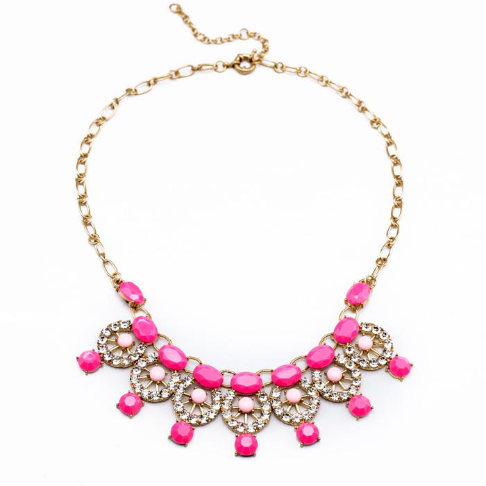 Женщины ювелирные изделия мода ювелирные изделия производитель оптовые склады в Европе и Америке новый Джокер кулон ожерелье аксессуар