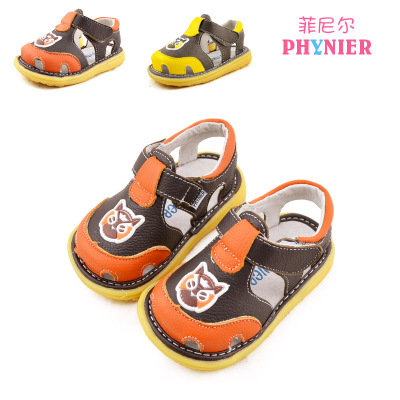 ef449084926d5 New leather baotou baby boy sandal shoes 1 2 2 to 3 years old children boy  boy children leather shoes
