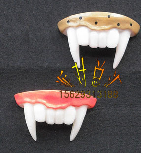 Cosplay Halloween props bar supplies vampire teeth vampire dentures