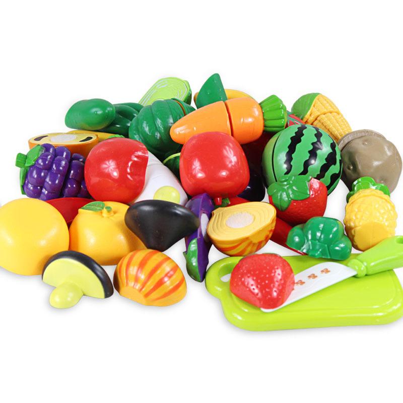 Дети играют моделирования Le baby кухне посуда, фрукты и овощи жить смотреть live играть роль подходит