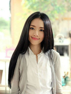 Guo Biting small time Nanxiang wig with long straight hair carved hair section matte big scalp holiday hair girls