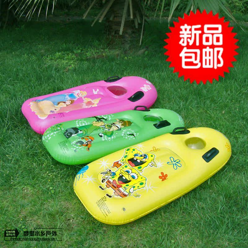 Бесплатная доставка ребенок мужской и женщины для взрослых прибой доска газированный плавающий цвет купание игрушка газированный поплавок кровать