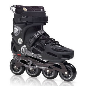 Genuine 11 models ROLLERBLADE TWISTER 80 cool black FSK Ping Hua Xie Specials