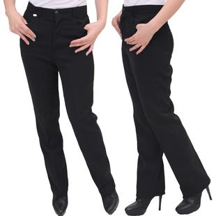K104酒店工作裤 精品女裤职业裤 服务员黑色工作裤 女服务员裤子