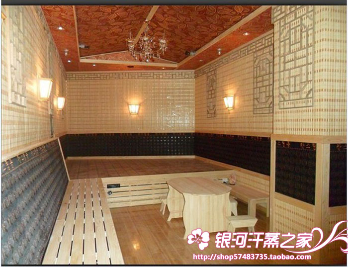 Construction of tourmaline beauty and health care steam room, steam room, high temperature Yoga project, high temperature module