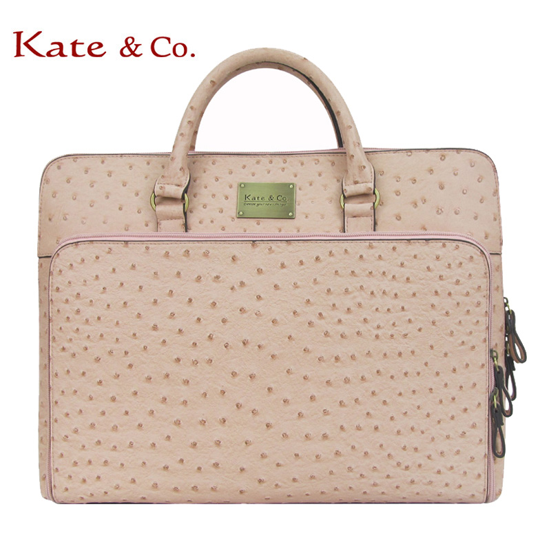 Kateco ostrich pattern is suitable for Lenovo computer bag 13.3