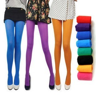 8 pairs of socks genuine sexy waves Shasi significantly stovepipe socks 50D color velvet plus crotch pantyhose