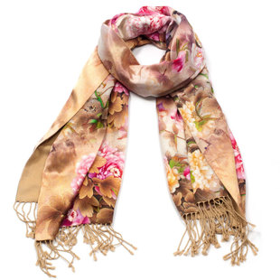 2015 new autumn and winter high end counter brand scarves Korea sided cashmere shawl Jurchens strands gift boxes