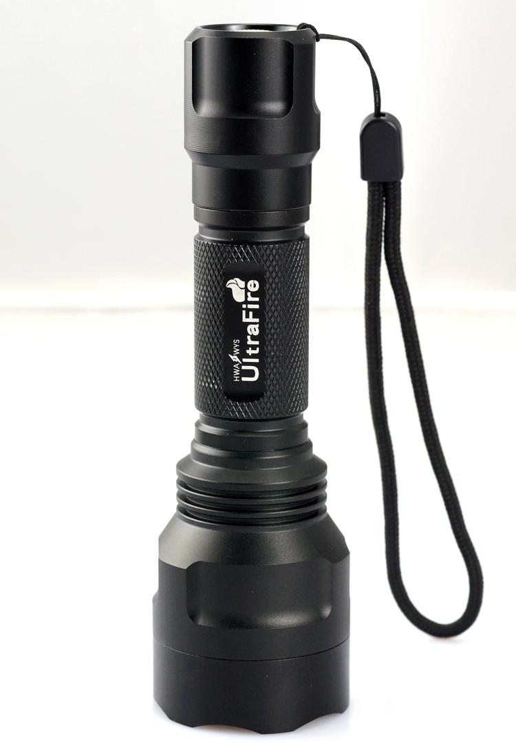特价18款CREE C8 XM-L2 U310W\XPE LED强光充电远射18650手电筒