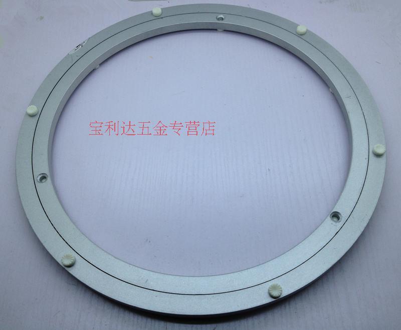 18 дюймовый 450mm универсальный проигрыватель обеденный стол проигрыватель алюминиевых сплавов подшипник проигрыватель круглый стол проигрыватель стекло проигрыватель база