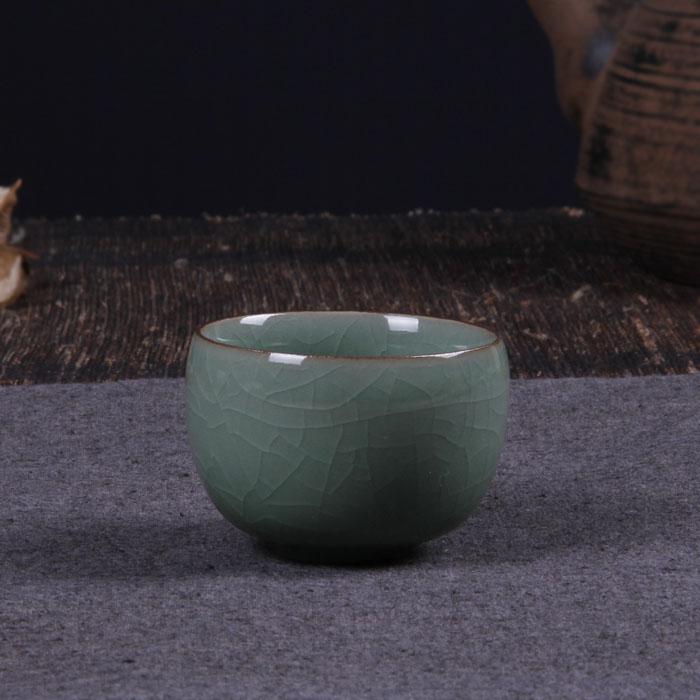 Longquan Селадон кунг-фу чай GE льда трещины стакан воды чашки чая стекла специальные новые продукты