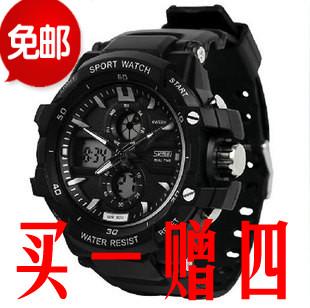 Подлинное спортивные часы Мужские часы качества кварцевые часы детей водонепроницаемый ночного оптоэлектроника смотреть мальчик машины