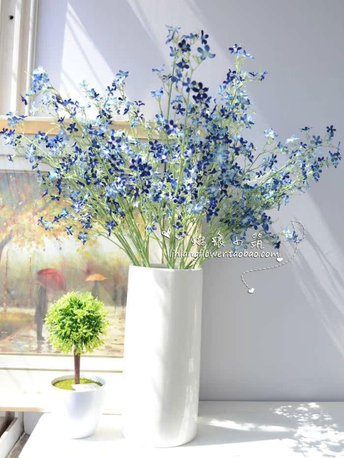 Французский суд цветок искусственный цветок шелковые цветы искусственные цветы помещены цветочные декоративные цветочные стол гостиной