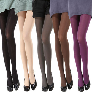 100 D Swan in autumn and winter tights thick microlenses slimming pants pantyhose stockings leggings wholesale child