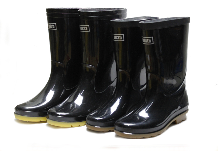 Вернуть силу сапоги мужчина в труба высокая трубка сапоги водонепроницаемый обувной скольжение вода ботинок пригодный для носки труд страхование клей обувной женщина пластик крышка обувной