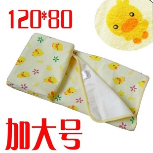 A pattern from yellow duckling oversized waterproof changing mat waterproof changing mat Large 120 70CM