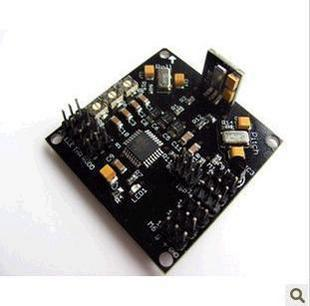 KK V5 5 4 X4 mode 4 axis programs flight control board black board the latest 2 5 version of the Cheap