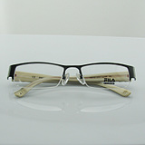 ac6f5d0507ec USD $50.59; FILA Semi Rimless Frame rectangular metal frame plate special  offer free shipping temple