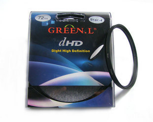 Green leaves 77mm lens filter 4 6 8 genuine Starlight Starlight line mirror 525558626772