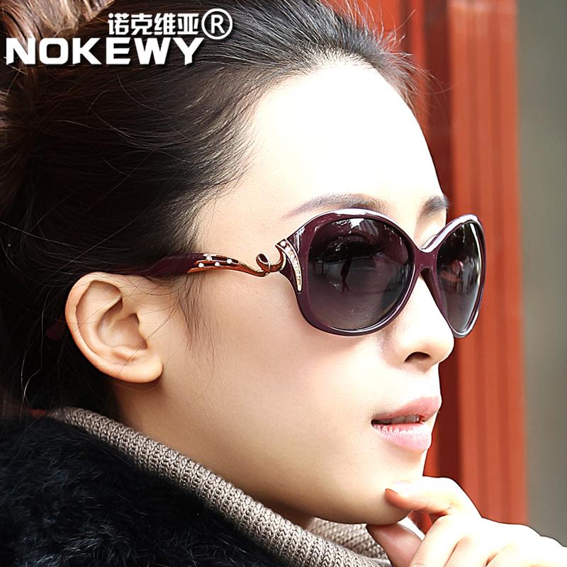正品太阳镜2015新款女士偏光镜潮时尚优雅墨镜复古明星款太阳眼镜