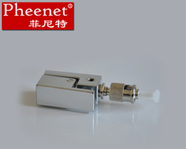 Pheenet Finit St Square single multimode bare fiber adapter Cable test Adapter