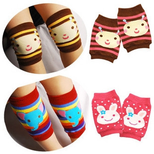 Cheap super cute Japanese cartoon kneepad single set of small socks wrist sleeve baby learning to climb necessary