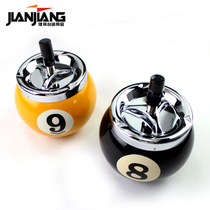 Jianjiang Creative Billiards ashtray Large Ball Room Club Spherical decorative Gifts