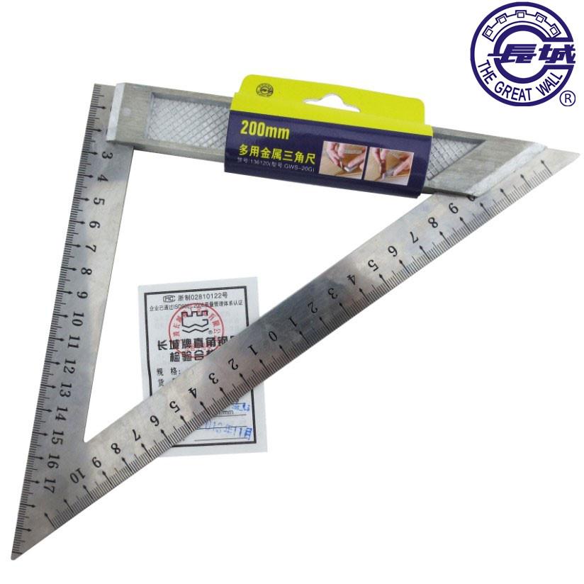 Великая китайская стена seiko (компания) треугольник правитель интенсивный металл треугольник правитель нержавеющей стали угол правитель треугольник доска 150mm 200mm