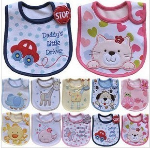 Carter carter s new styling newborn baby bibs three waterproof bibs baby bibs A