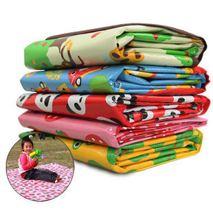 Children s cartoon baby crawling blanket game pad beach mat picnic mat outdoor picnic essential 0 5