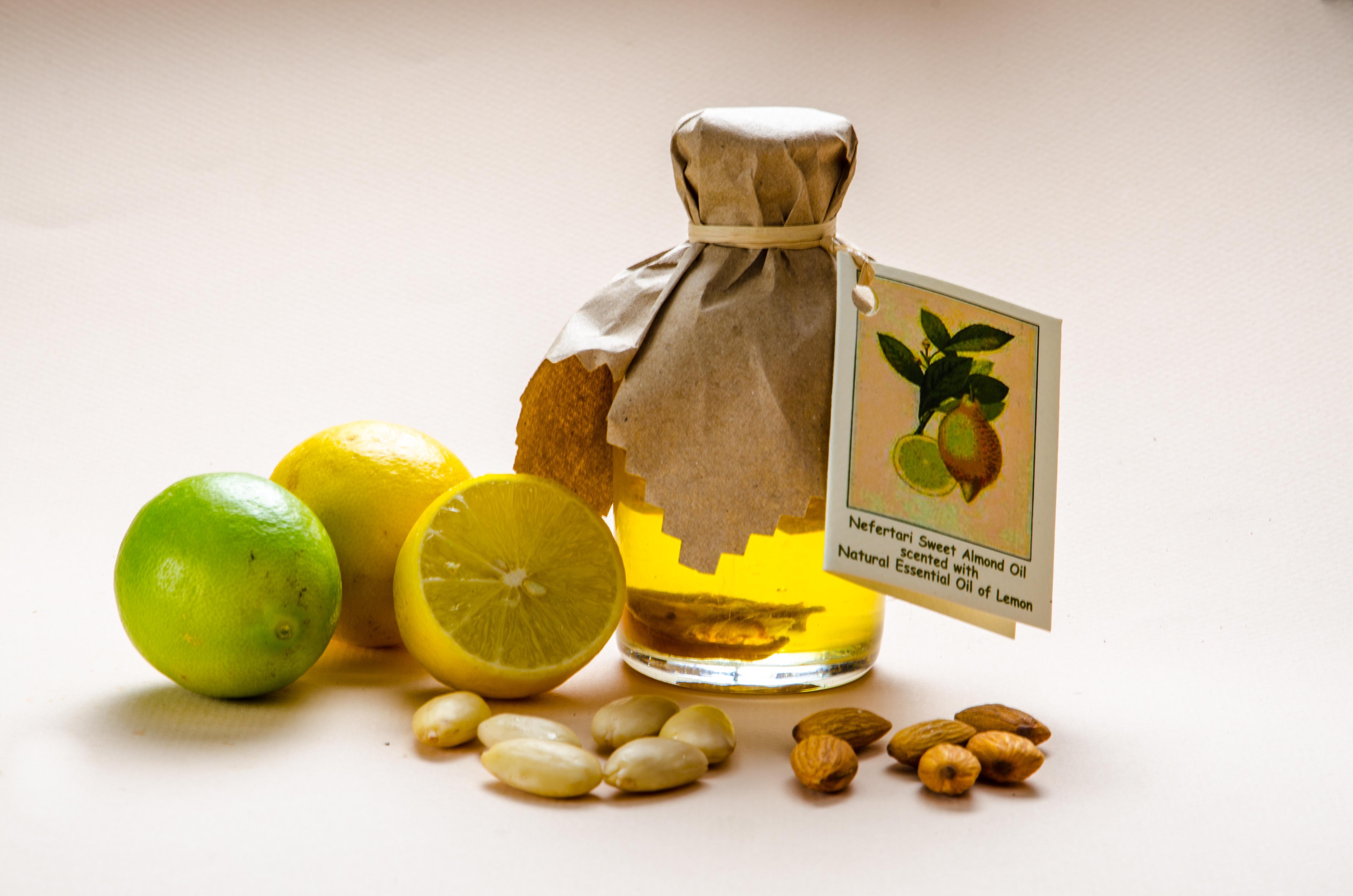 预售包邮 埃及Nefertari 柠檬复方按摩精油