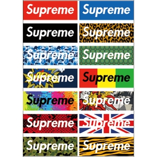 supreme tide Tide brand stickers stickers stickers fridge stickers logo stickers personalized car stickers