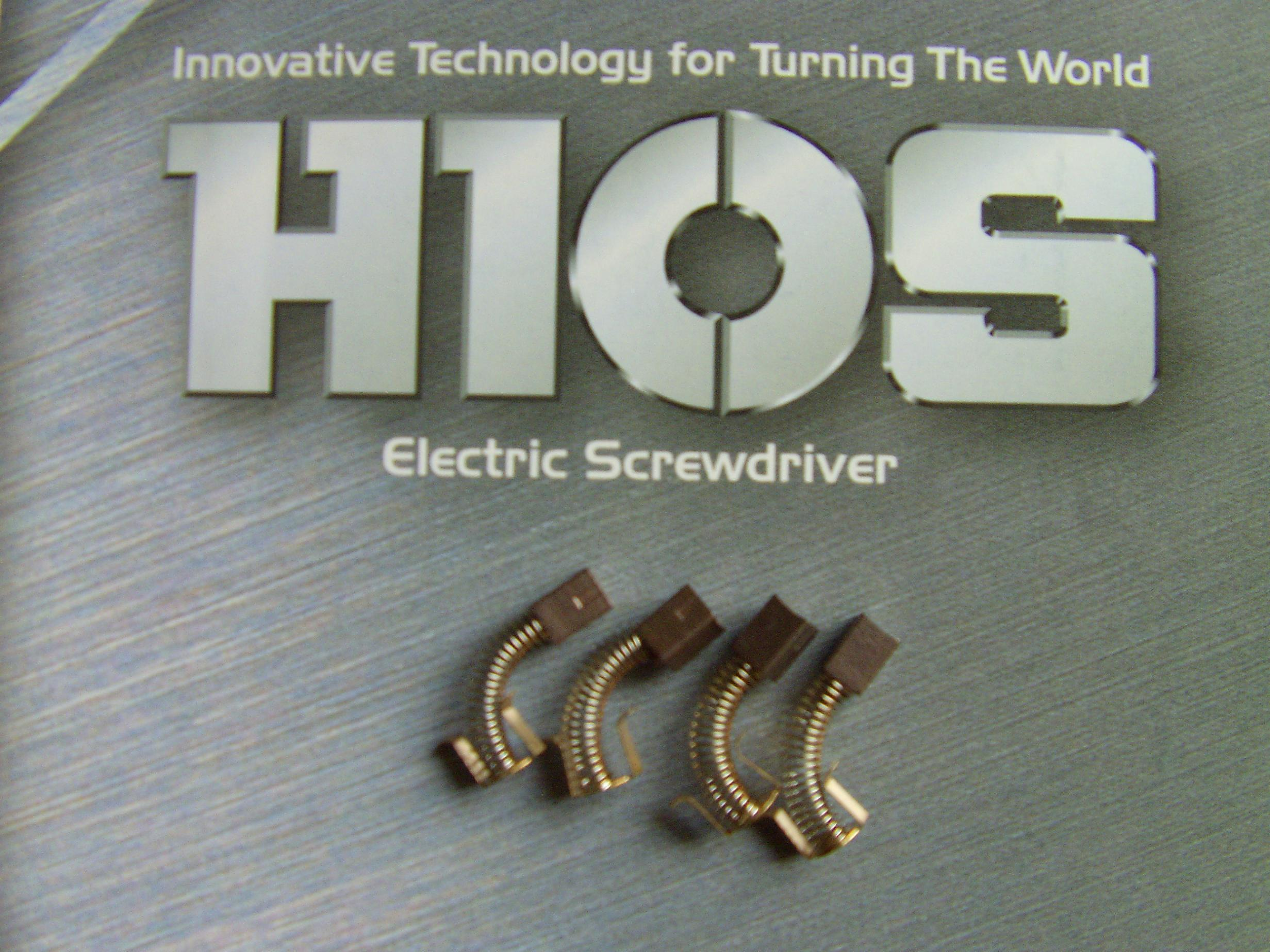 HIOS碳刷CL65-0490/电动螺丝刀CL-6000,6500,7000碳刷