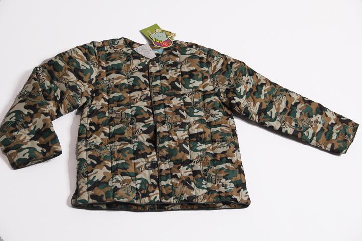 特价儿童羽绒内胆迷彩服童忆品牌商场专柜有售月销万件亏本价