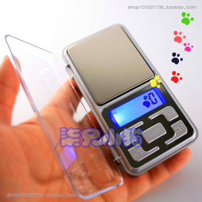Портативный мобильный телефон стиль прозрачный покров электроника золото ювелирные изделия весы баланс миниатюрный электронный весы пальма сердце весы