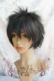 YUKI Gintama GINTAMA earthwork cos wig high temperature wire 14 Lang cosplay wig