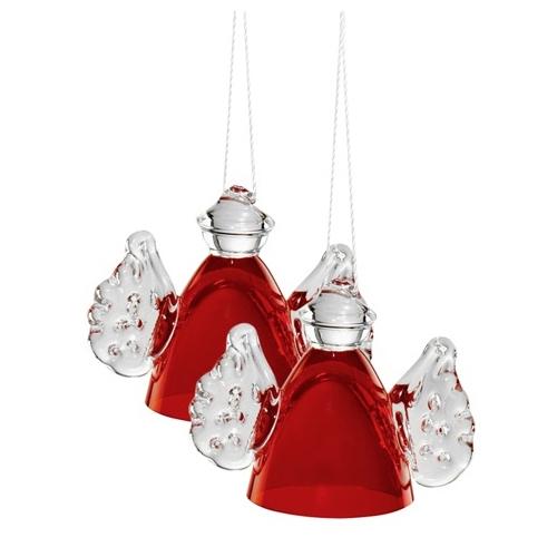 Стекло украшение стекло декоративный статья красный день сделать JU27 ремесла кристалл рождество аксессуары домой аксессуары