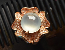 High-end new ring and ring ring set egg noodle set 18 k rose gold ring custom processing fee